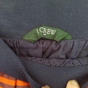 J. Crew Skirts - Jcrew Orange and Blue Striped Skirt